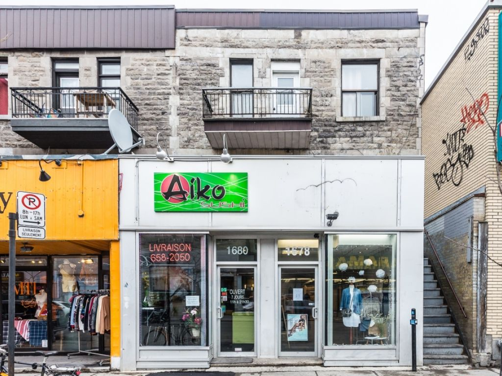 Ground floor 1200 sq  ft – Mont-Royal Avenue